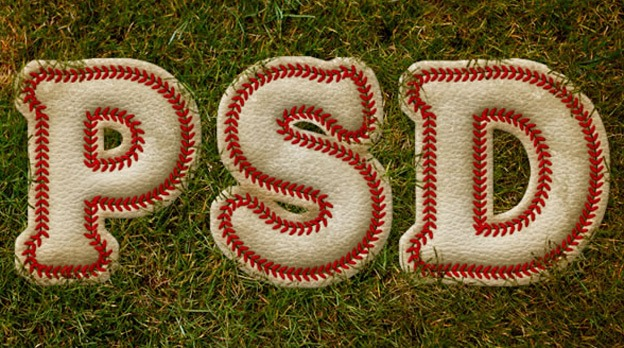 Baseball Inspired 30+ Photoshop text effect tutorials