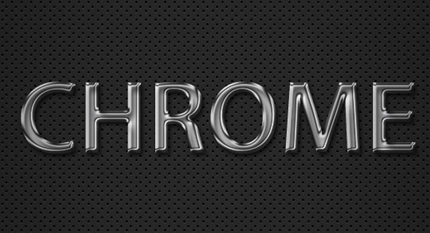 Chrome Text Effect1 30+ Photoshop text effect tutorials