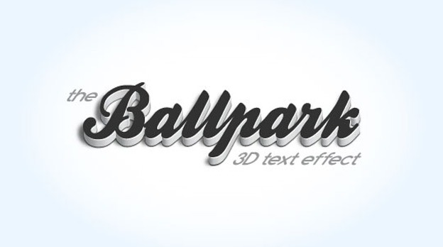 Modern 3D 30+ Photoshop text effect tutorials