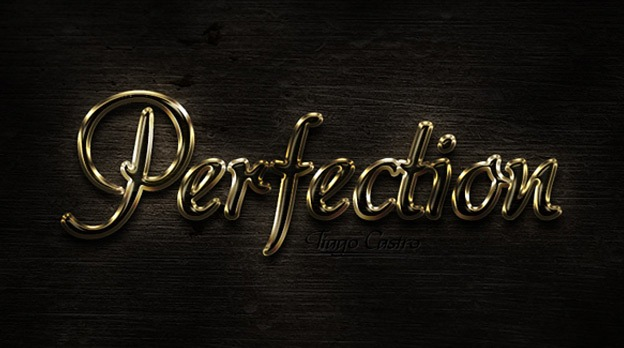 Perfect Gold 30+ Photoshop text effect tutorials