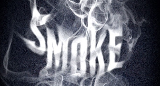 Smoke Type 30+ Photoshop text effect tutorials