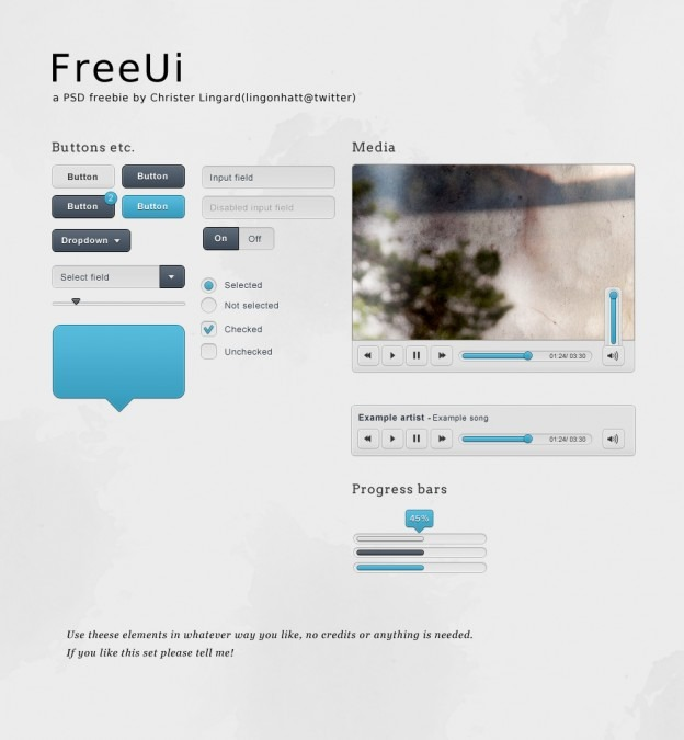freeui   a small set ui set by lingonhatt d41rv1s e1359545202245 40+ Free Web Elements