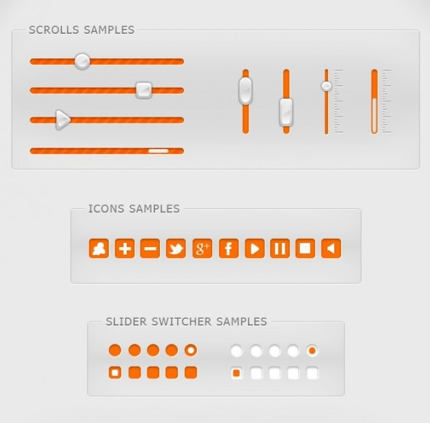ui elements set 1 by roamn d4l7fp3 e1359534198189 40+ Free Web Elements