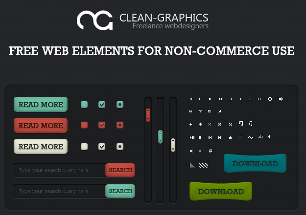 web elements by djdillen d36cmoz e1359537852368 40+ Free Web Elements