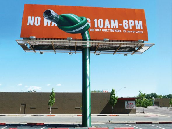 DenverWaterHose 30+ Creative Outdoor Advertisements