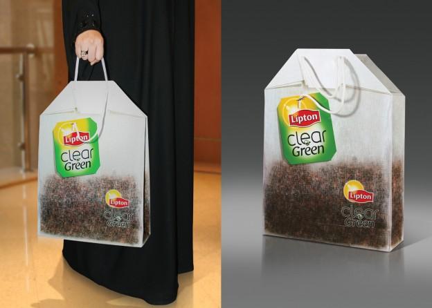 GREEN BAG e1362035793264 Creative Shopping Bag Designs