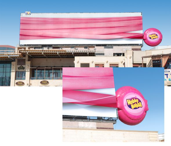 Hubba Bubba 30+ Creative Outdoor Advertisements