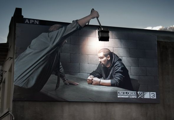 TV3 Law Order 30+ Creative Outdoor Advertisements