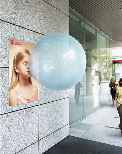 big babol1 30+ Creative Outdoor Advertisements