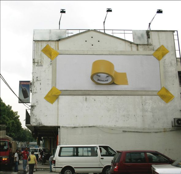 penline billboard 0 30+ Creative Outdoor Advertisements
