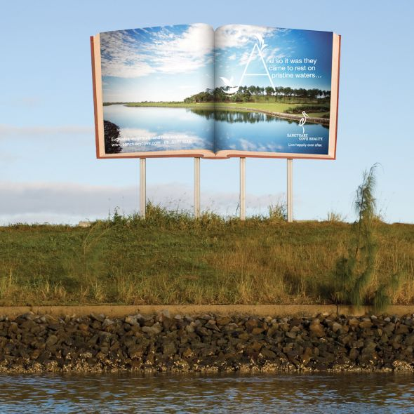 sanctuarywaters 30+ Creative Outdoor Advertisements