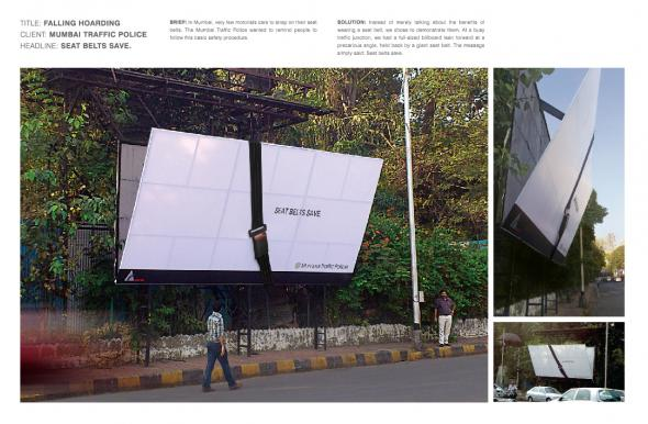 seat belt hoarding 30+ Creative Outdoor Advertisements