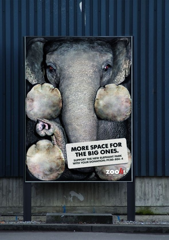 zoo zurich vertical e1360576309484 30+ Creative Outdoor Advertisements