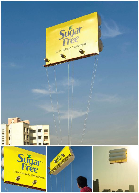 zydus floating billbopard 30+ Creative Outdoor Advertisements