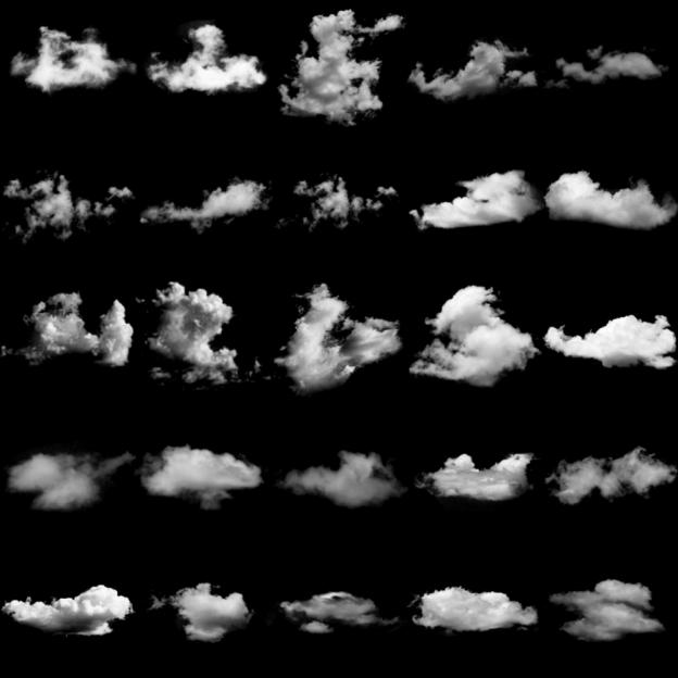 cloud photoshop