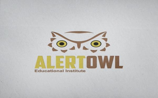 171e01b986d0d47c9e44b501a11d7e3e 35 Owl Logo designs For Your Inspiration