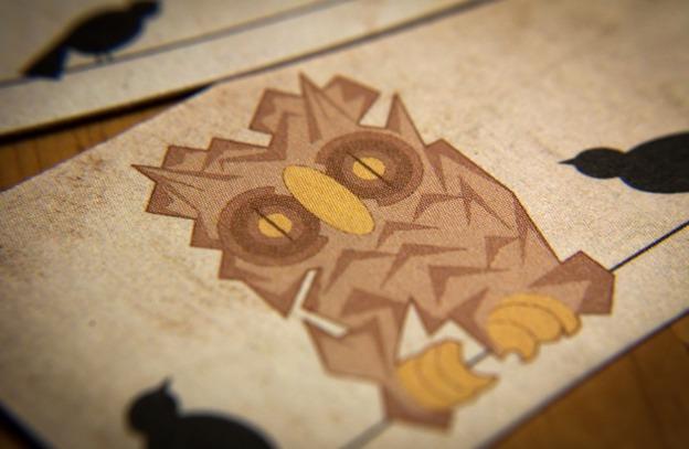 Creative owl business card designs creatives wall owlbusiness cards colourmoves