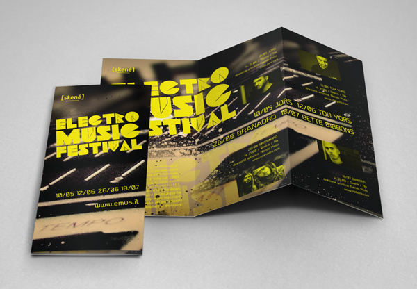 25 creative brochure designs for inspiration creatives wall for Festival brochure design