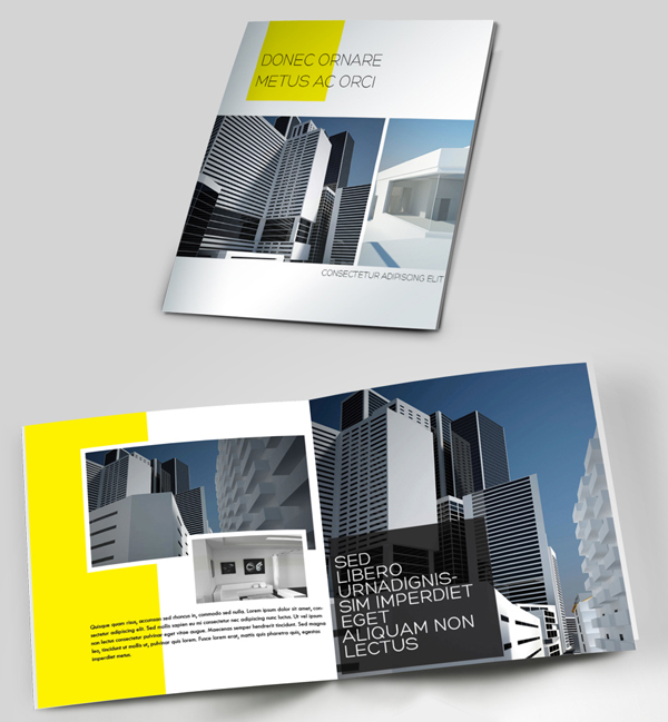 architect brochure designs for inspiration