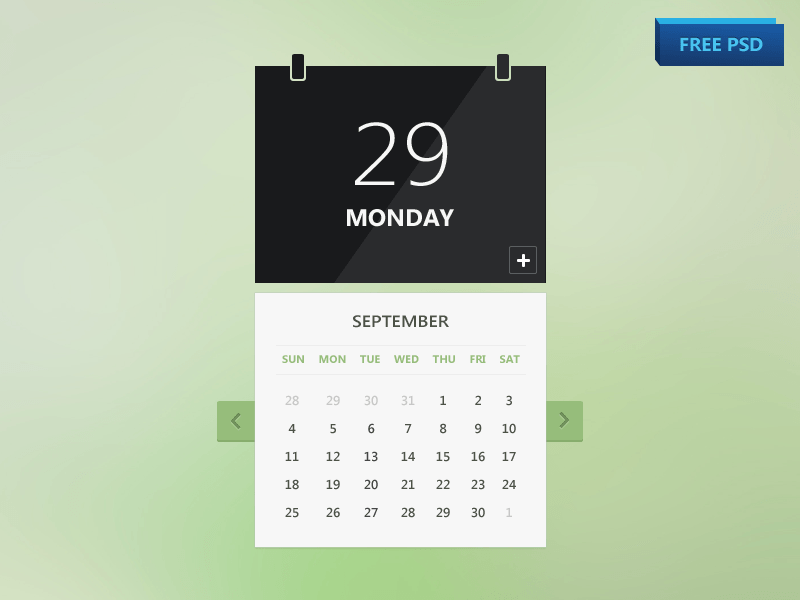 Calendar Design Ideas Vector : Free psd calendar designs creatives wall
