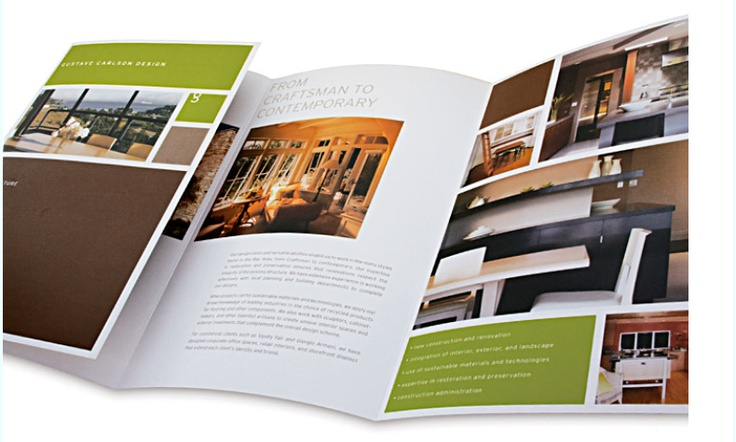 hotel brochure design inspiration - architect brochure designs for your inspiration