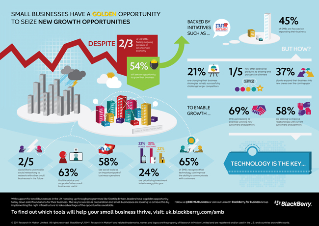 BlackBerry SMB Infographic1 Best Infographics For Your Inspiration