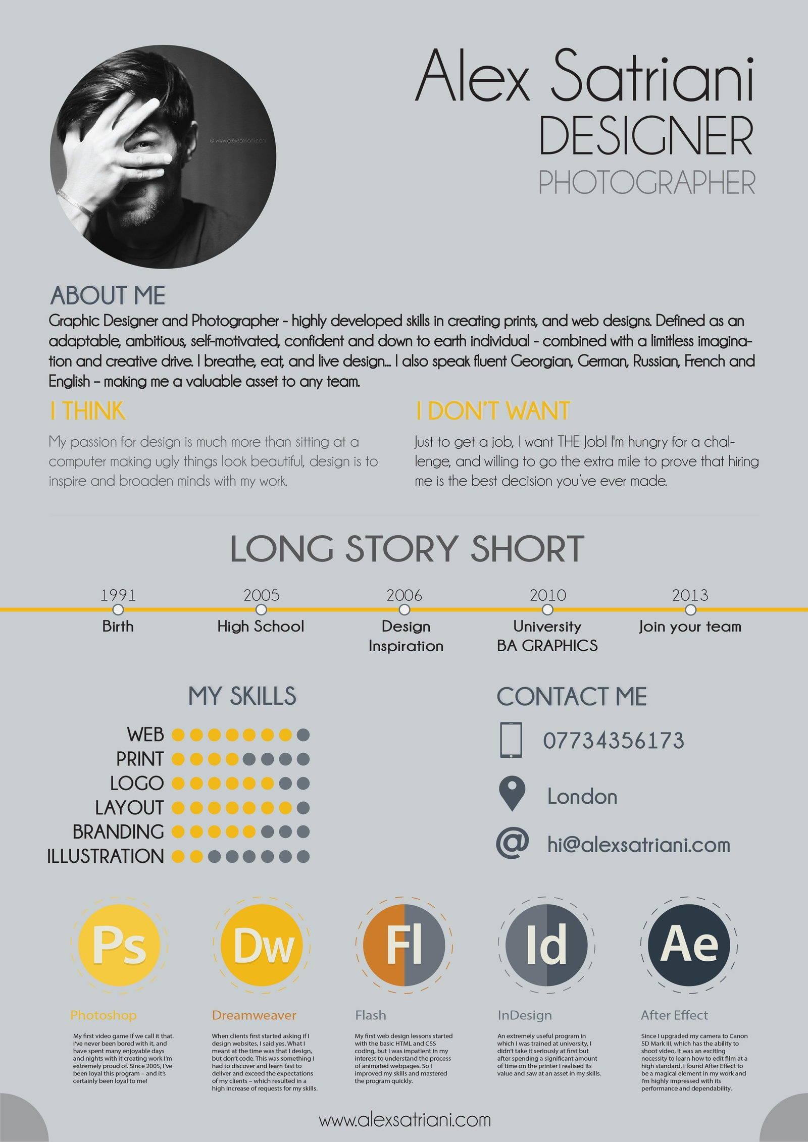 amazing resume design examples