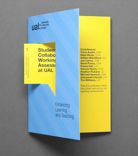 25 creative brochure designs for inspiration creatives wall for Typography brochure design