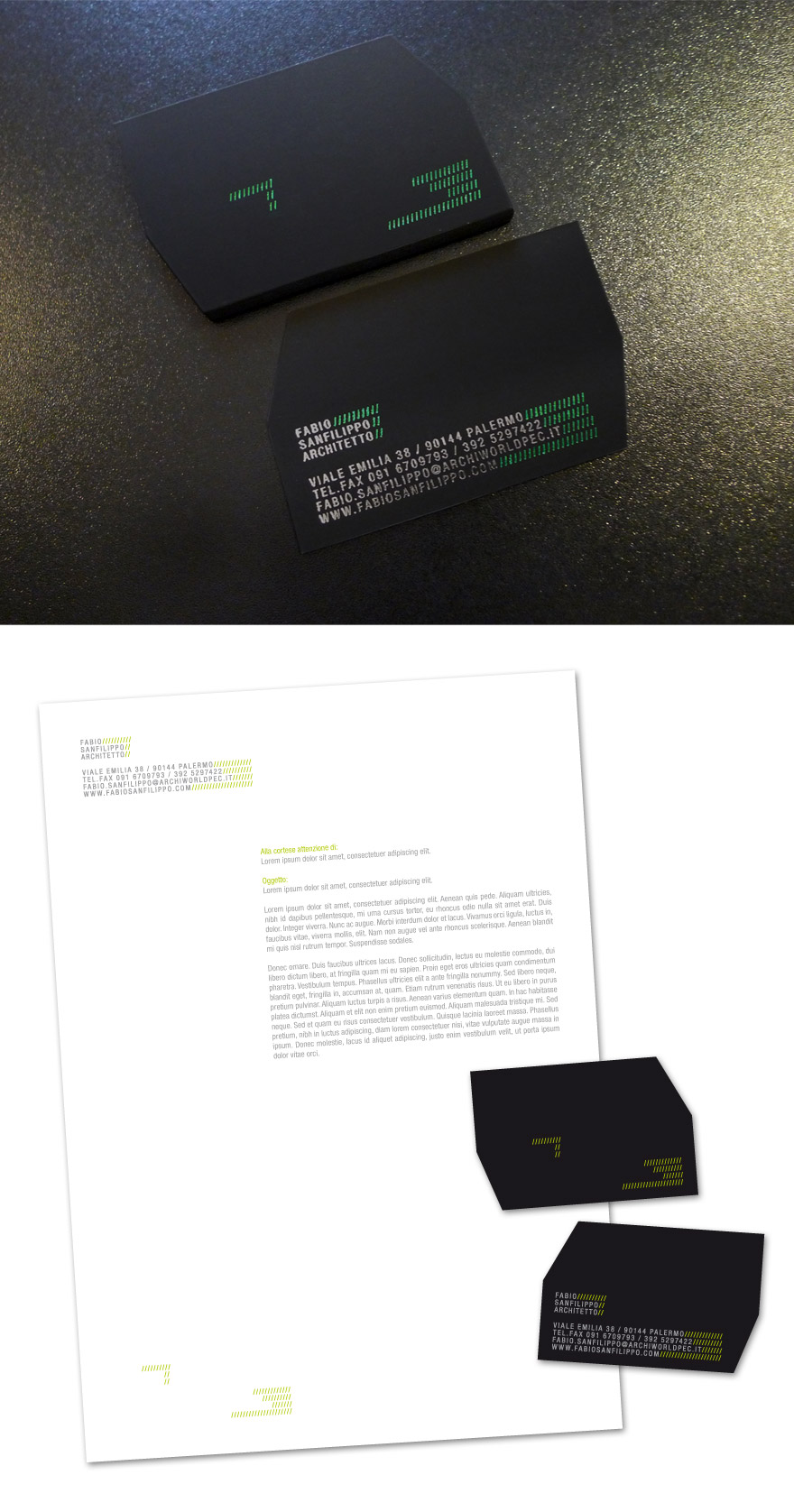 35 Architect Business Card Designs For Inspiration - Creatives Wall