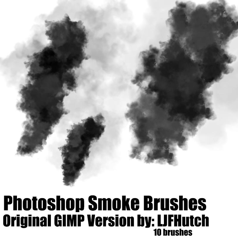 25 set of free smoke photoshop brushes