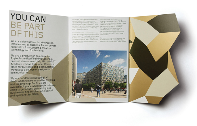 Architect brochure designs for your inspiration for Brochure for web design company