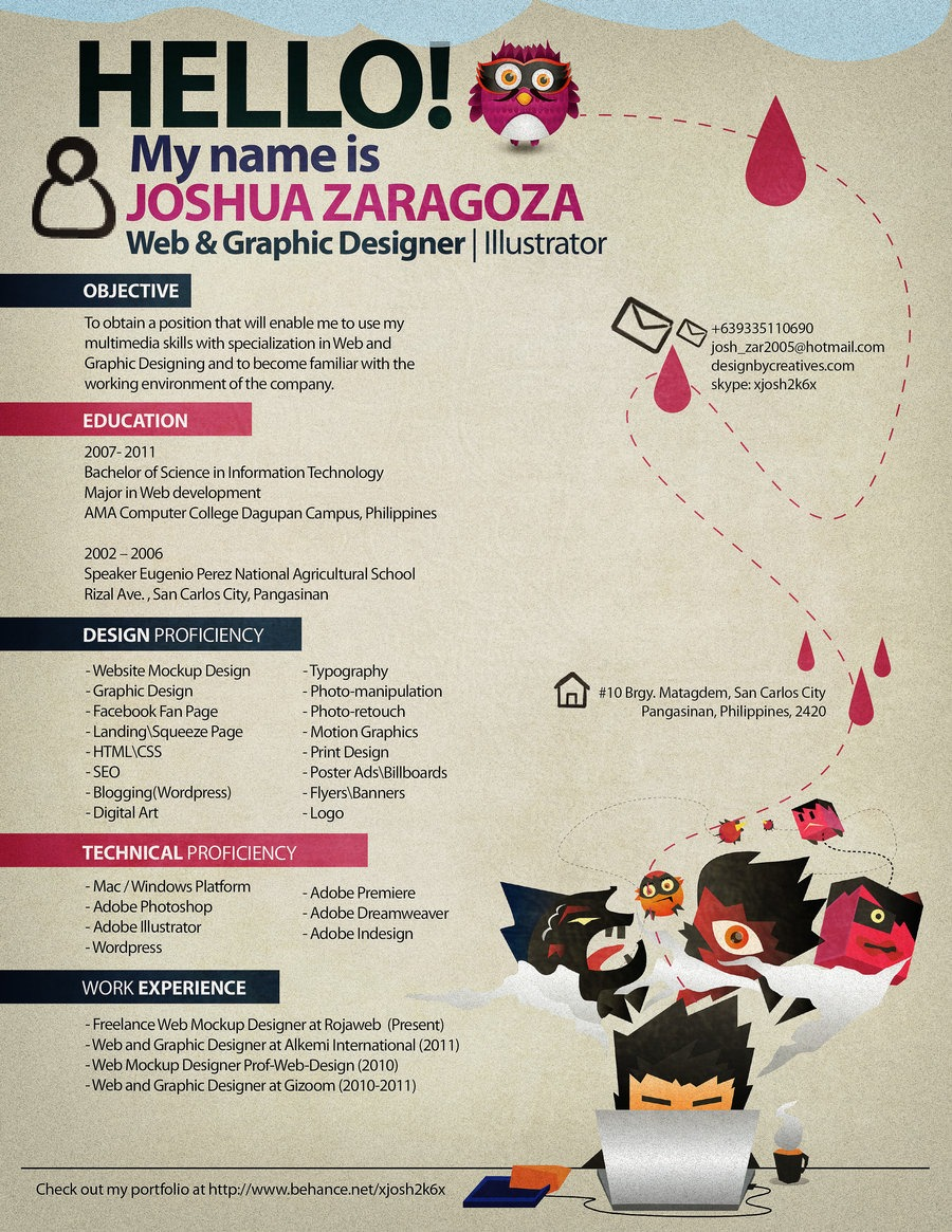 amazing resume design examples share this