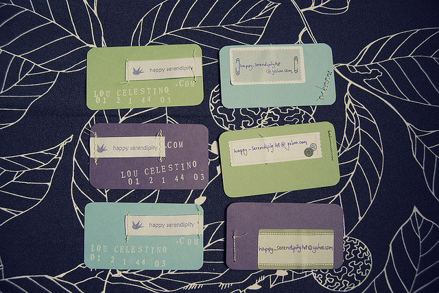 4426274411 476963a122 z Handmade Business Card Designs