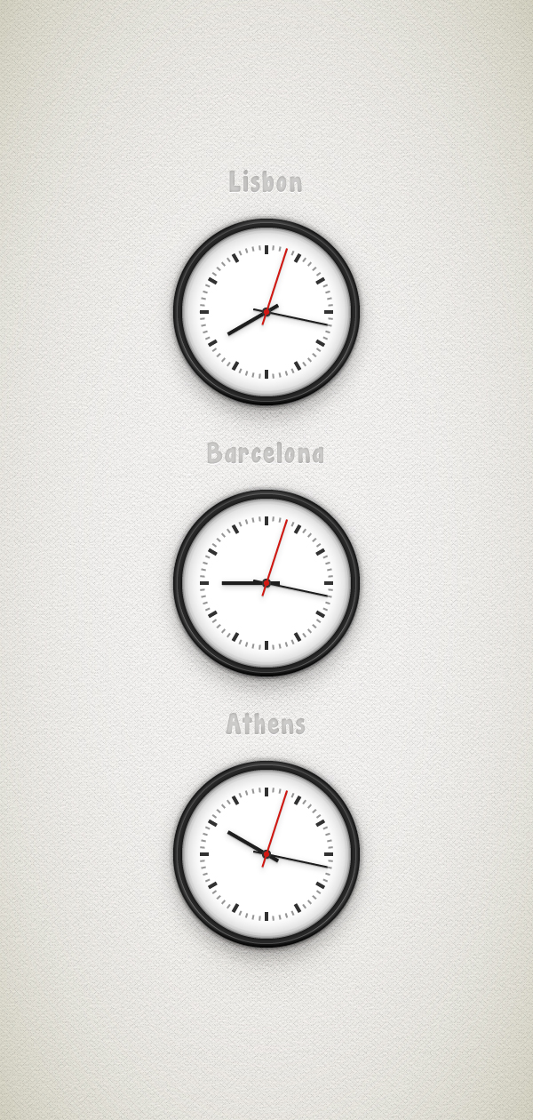 How to Create a Simple Clock. Excellent Adobe Illustrator Tutorials