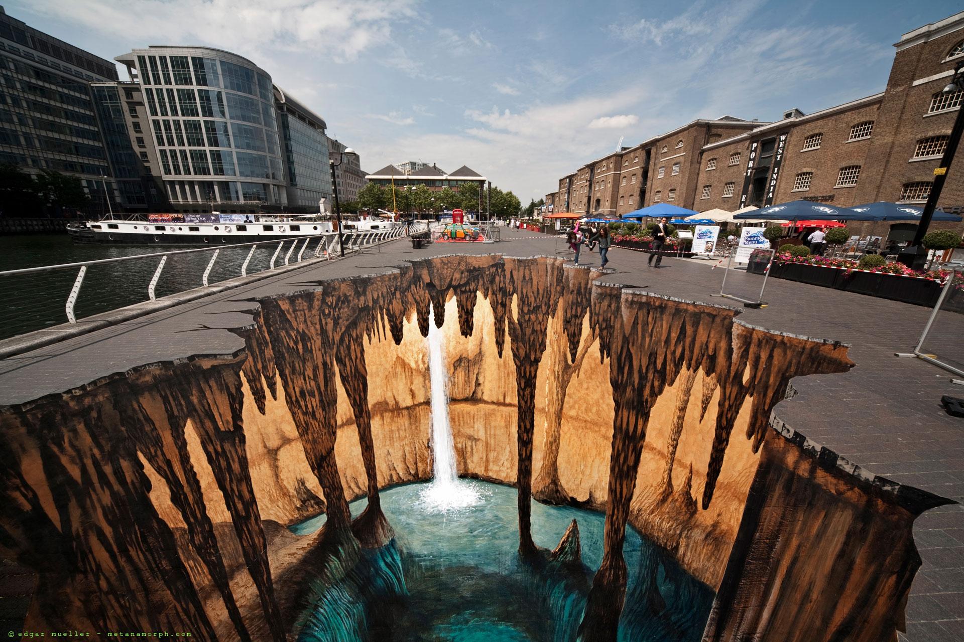 Stunning 3D Street Art Photos