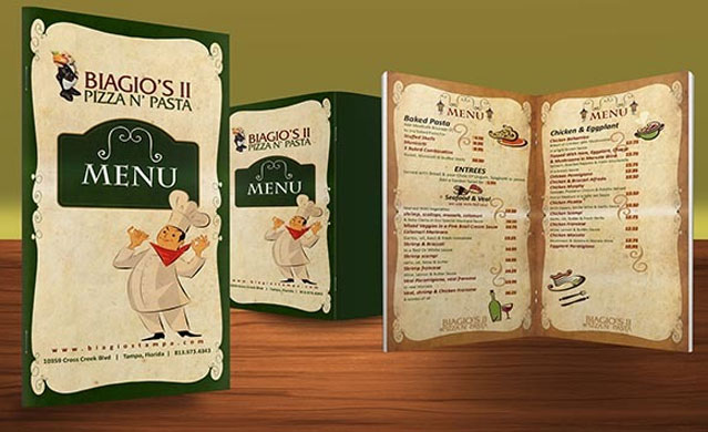 Resturant Brochures 14 Restaurant Brochure Design Examples for Inspiration