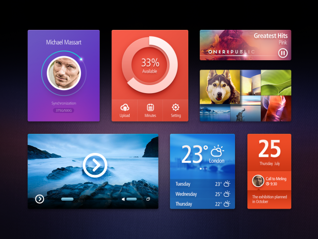 Ui Kit big1 e1399479563261 Free Photoshop Web UI Kits