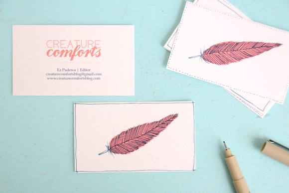 bcards 2011 Handmade Business Card Designs