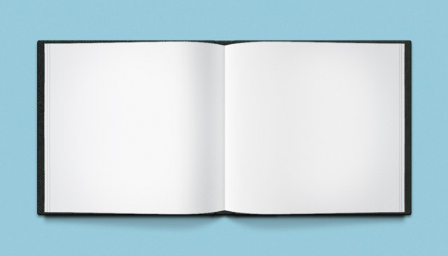 Open Book Mockup