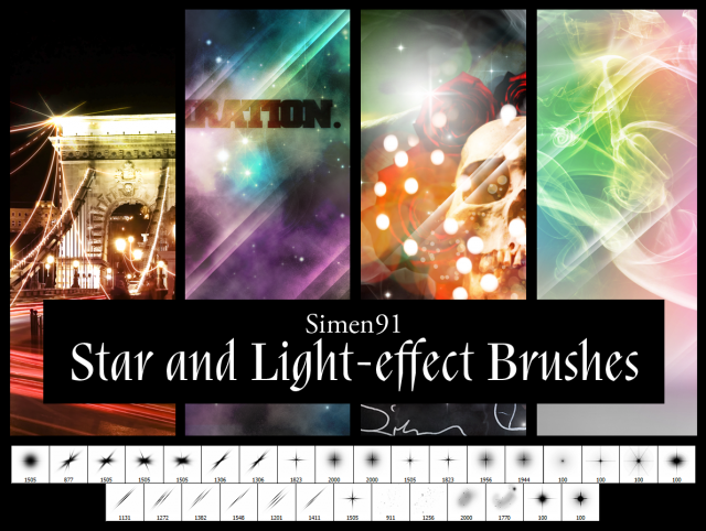 star_and_light_effect_brushes_by_simen91-d3bwlei