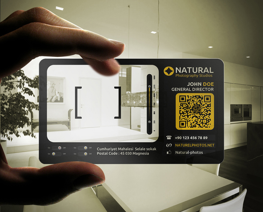 30 creative photography business card design examples
