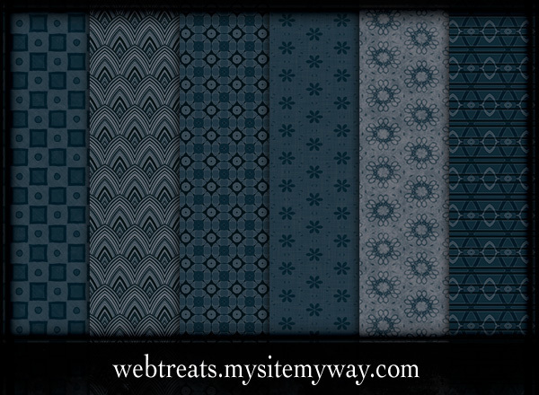 Midnight Blue Patterns