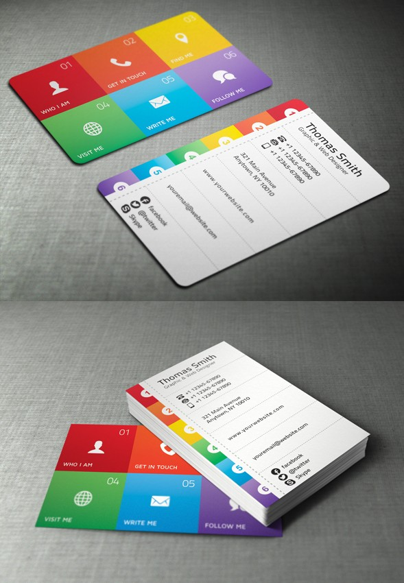Most creative business card designs for inspiration creatives wall personal business card colourmoves