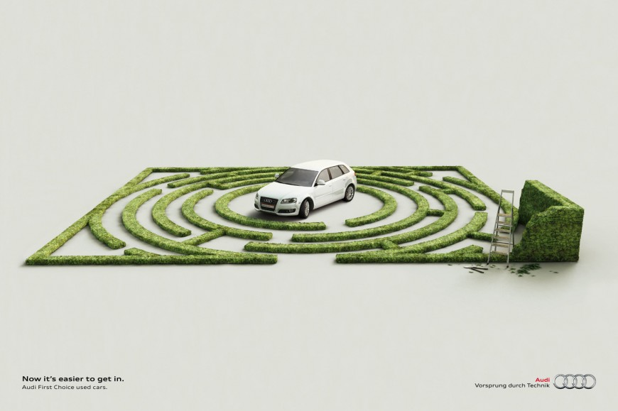 Creative Car Advertising Ideas
