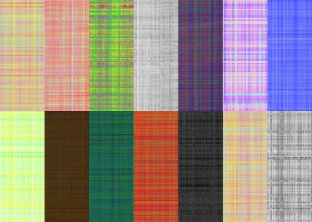 14 Plaid Checkered Patterns