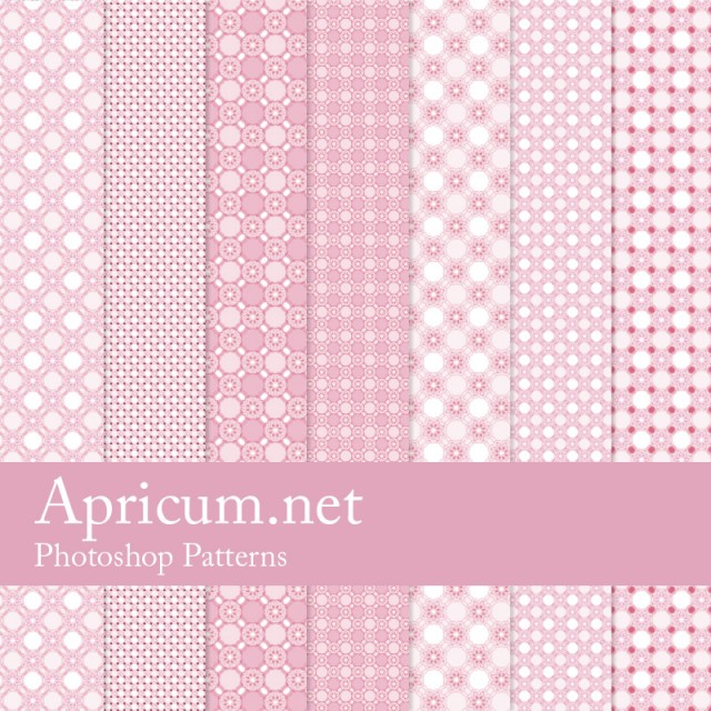 Pink Photoshop Patterns