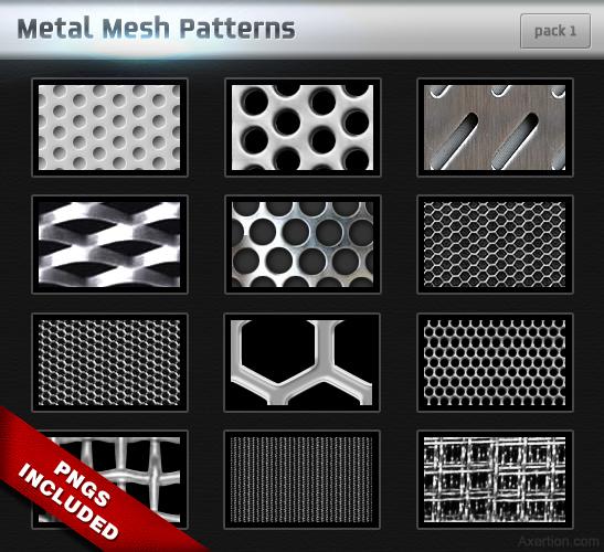 Metal Mesh Patterns
