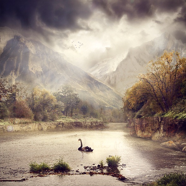 Serene Fantasy Photo Manipulation