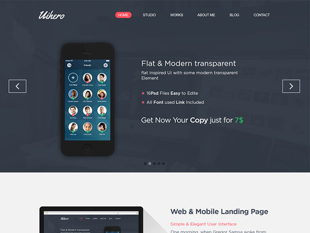 Stunning Free PSD Website Templates
