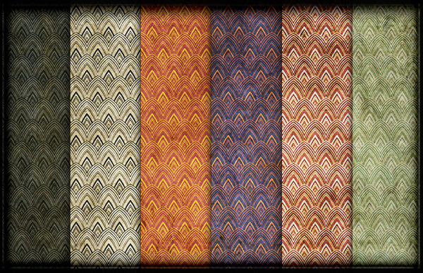 Vintage Retro Grunge Wallpaper Patterns